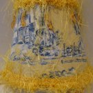 Yellow and Blue Toile Boutique Night Light