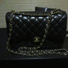 Chanel Classic 2.55 Lambskin Jumbo Flap Bag + Receipt