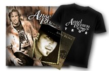 PERSONALIZED Autographed CD + T-Shirt + PIC  (MED)