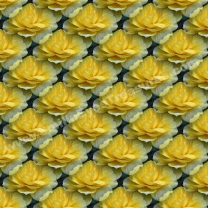 Tiled Yellow Roses Floral Background Digital File