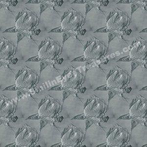 Silver Rosebuds Tiled Pattern Floral Background Digital File