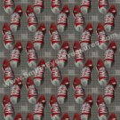 Red Sneakers Abstract Art Pattern Wallpaper Background Digital File