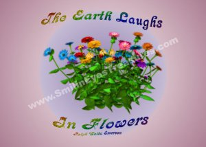 Happiness Flowers Inspirational Quote Printable Digital File Card