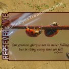 Perseverance Ladybugs Inspirational Printable Digital File Card