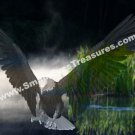 Fantasy Eagle Digital Printable Animal Photo 5x7