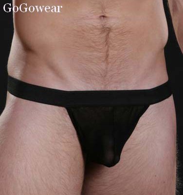 Mens Sexy Black Thong Male Stripper wear (3063)                            Free Shipping!
