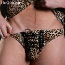 Male Exotic Dancer Leopard print Sexy underwear (3084)                       free shipping!