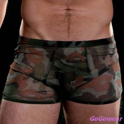 Men's Sexy Military style Boxers,Underwear, M-L  (3226)                      free shipping!