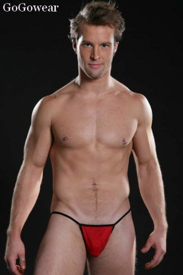 * Hot* Black Mini-String,Male stripper underwear (3202)                      free shipping!