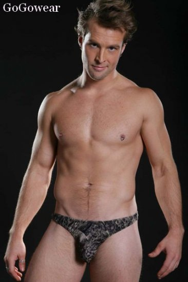 Male Stripper Sexy soft darkgray Thong Underwear (3091)                       free shipping!