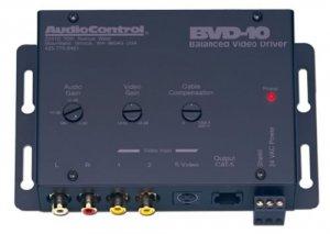 AUDIOCONTROL BVD10 BALANCED LINE AUDIO/VIDEO DRIVER NEW