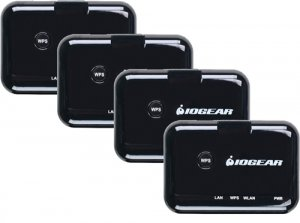 IOGEAR GWN8010K UNIVERSAL WIRELESS WI-FI BULK PACK (4) NEW