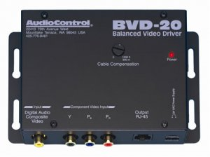AUDIOCONTROL BVD20 BALANCED COMP V/DIGITAL AUDIO DRIVER NEW
