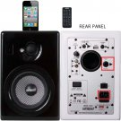 Earthquake IQ-52B iQuake 2.1 5.25 200W 2 Way Speaker System for iPod and Portable Media BLACK