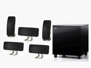Jamo 5.1 Speaker Package With 200W Peak Handling - Black A200HCS5B
