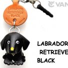 Labrador Retriever Black Leather Earphone Jack Accessory *VANCA* #43779