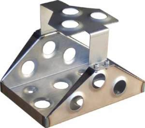 Optima Welded Steel Battery Box Mounting Tray