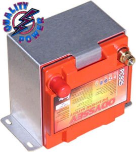 PC925 Odyssey Battery Hold Down Vertical Mounting Box