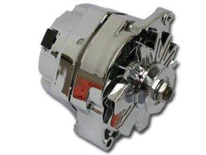 1 Wire Chrome 100 amp GM Chevy Buick Pontiac Alternator