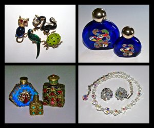 Carnegie, Crown Trifari Vintage Costume Jewelry and Destash Estate Collection
