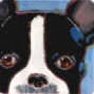 Boston Terrier Portrait Tile