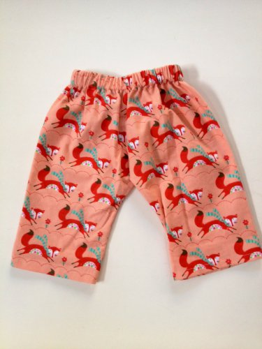 RED FOX Handmade Infant/Toddler Lounge Pants 6-12MO