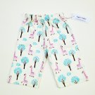 GIRAFFE- Handmade Infant/Toddler Lounge Pants     18-24MO