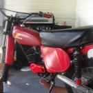 74 Honda CR 125 VINTAGE dirt bike--(restored)
