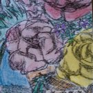 "ACEO original art trading card ""Bouquet"""