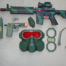 M16 Military Toy Gun Play Set includes M16 Toy Machine Gun + Pistol