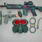 M16 Military Toy Gun Play Set includes M16 Toy Machine Gun + Pistol