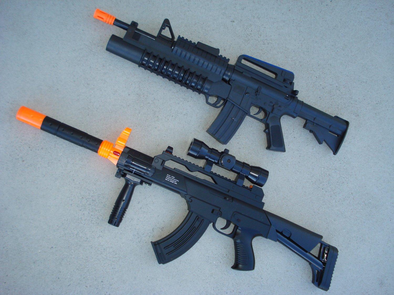 m16 machine gun
