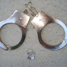 Metal Handcuffs with 2 Keys and Safety Latches