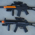 "G36 Carbine Style Toy Machine Gun 27.5"" + MP5 Toy Machine Gun 28"" + FREE Grenade"