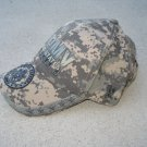 US Army Green Camo Baseball Cap with United States Army Seal - licensed by US Army