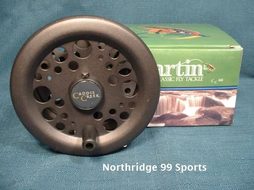 Martin Caddis Creek Fly Reel Model CC68 NEW