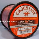 Cajun Red Lightnin Red Cast 8# 1600 yds Fishing Line