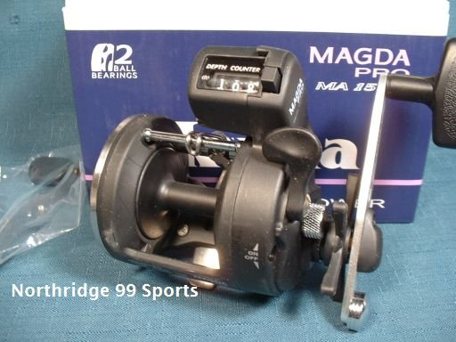 Okuma Magda Pro MA 15DX Line Counter Reel NIB