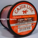 CAJUN RED LIGHTNIN RED CAST 12# 1150 yds FISHING LINE