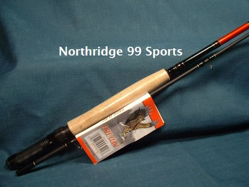 Eagle Claw 8' Black Eagle Graphite Fly Rod NEW