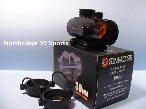 Simmons Red Dot Rifle Scope 30 mm Quick Shot NIB