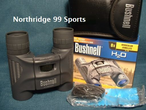 BUSHNELL Binoculars H2O 8 X 25 with  Carry Case NEW