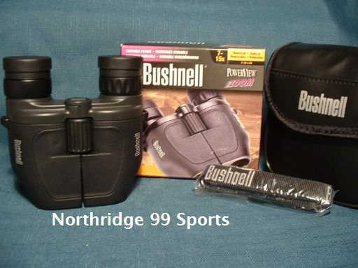 BUSHNELL Binoculars Powerview 7-15 X 25  ZOOM NEW