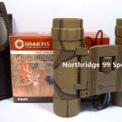 SIMMONS PROSPORT 10 X 25 Binoculars with Carry Case NEW
