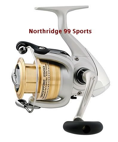 Daiwa Sweepfire Spinning Reel SW3500-B  NEW