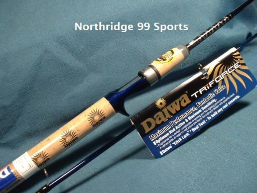"Daiwa TriForce Graphite Casting Rod 6' 6"" MH NEW"