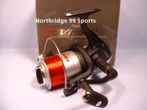 Pinnacle Viper Spinning Reel  FREE LINE PV70 NEW