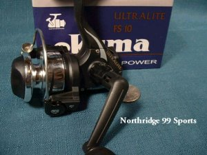 Okuma Ultralite FS10 Spinning Reel Fishing NIB