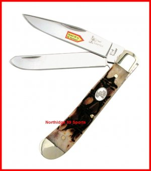 Steel Warrior  Trapper Pocket Knife SW108CROC NEW
