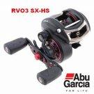 ABU GARCIA REVO 3 SX HS Baitcast Reel 9+1 BB RVO3SX HS NEW Hi Speed RH 7.1:1